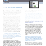 iCERF mobile Case Study